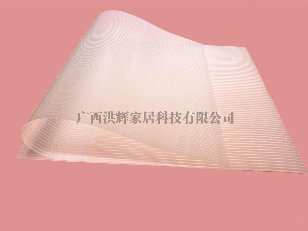 EVA冰箱垫透明直条纹